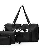 cheap -Unisex Pattern / Print Nylon Bag Set Bag Sets Letter 3 Pcs Purse Set Black / Blue / Purple / Fall & Winter
