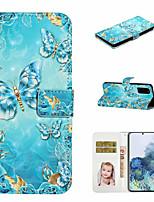 Недорогие -чехол для samsung galaxy s20 ultra s20 plus чехол для телефона искусственная кожа материал 3d окрашенный рисунок телефон чехол для s20 s10 plus s10 s9 plus s9 s8 plus s8