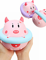 cheap -Squishy Squishies Squishy Toy Squeeze Toy / Sensory Toy Jumbo Squishies Stress Reliever Pig Safety Stress and Anxiety Relief Convenient Grip Super Soft Slow Rising Soft For Kid's Child's Adults'