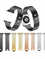 cheap -Watch Band for Apple Watch Series 5/4/3/2/1 Apple Classic Buckle / Business Band Stainless Steel Wrist Strap