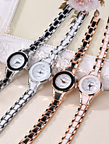 cheap -Women's Quartz Watches Quartz Stylish Luxury Casual Watch Analog Golden+Black Golden+White Black