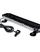 cheap -21 Inch 144W 42LED Double Side Traffic Strobe Flash Light Bar Amber Emergency Lamp Magnetic Mount 12V Universal