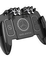cheap -PUBG Mobile Joystick Controller Turnover Button Gamepad for PUBG iOS Android Six 6 Finger Operating Gamepad
