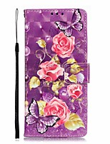 cheap -Case For Samsung Galaxy S9 / S8 Plus / Note 9 Shockproof / Pattern Full Body Cases Tile / Scenery PU Leather / TPU