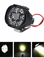 cheap -12V 8W 6LED Motorcycle Motorbike Front Spot LED Light Headlights Lamp