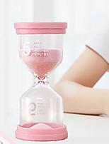 Недорогие -5-минутный таймер приготовления песочных часов дома творческие украшения маленький песочные часы макарон цвет 9.6 см * 4.9 см
