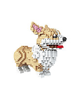 cheap -Building Blocks 950+ Dog compatible Molded ABS Legoing DIY Animal Design Boys and Girls Toy Gift