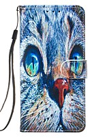 cheap -Case For Samsung Galaxy S10 5G/S20 Ultra/S10E Wallet / Card Holder / with Stand Full Body Cases Cat PU Leather For Galaxy Note 10 Plus/A01/A51/A71/A10/A20/A20E/A30/A50/A70/S20 Plus