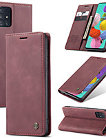 cheap -CaseMe Retro Leather Magnetic Flip Phone Case For Samsung Galaxy A71 / A51 / A91 / A81 / M30S / M20 / M10 / M80S / M60S / A70S / A50S / A30S / A20S / A10S / A70 / A50 / A30 / A20 / A10 / A20E Cover