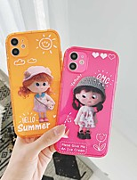 cheap -Shockproof TPU Girl Case for Apple iPhone 11 Pro Max X XR XS Max 8 Plus 7 Plus 6 Plus SE Back Cover