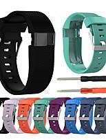 Недорогие -ремешок на запястье ремешок для зарядки FitBit HR заменить силиконовый браслет браслет
