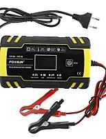 Недорогие -Fousur 12/24 В agm 8a импульсный ремонт зарядного устройства сопровождающий жк-дисплей для мотоцикла авто капот - нас вилка