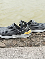 cheap -Women's Sandals Flat Sandal Summer Flat Heel Round Toe Daily PVC White / Black / Pink