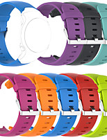 cheap -Watch Band for Garmin Approach S3 Garmin Classic Buckle Silicone Wrist Strap