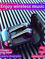 Недорогие -litbest g9f min tws правда беспроводные наушники беспроводные Bluetooth 5.0 с микрофоном для зарядки для спортивного фитнеса