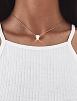 cheap -Women's Choker Necklace Chrome Gold Silver 45 cm Necklace Jewelry 1pc For Daily