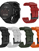 Недорогие -Ремешок для часов для SUUNTO 9 / SUUNTO Spartan Sport / Suunto Spartan Sport Wrist HR Baro Suunto Спортивный ремешок силиконовый Повязка на запястье