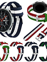 cheap -Watch Band for Gear Sport / Gear S3 Classic / Samsung Galaxy Watch 46mm Samsung Galaxy Sport Band Nylon Wrist Strap