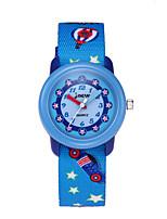 cheap -Kids Sport Watch Automatic self-winding Blue Water Resistant / Waterproof Analog Cartoon - Blue