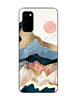 cheap -Case For Samsung Galaxy S20 FE Frosted Pattern Back Cover Scenery TPU Soft Galaxy S20 Plus Note 20 Ultra S10E S10 Plus A11 A21S A31 A41 A51 A71 A81 A91