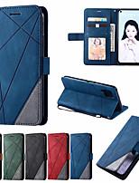 cheap -Leather Case For Huawei P40 P20Lite P30 Mate 20Lite 30 Lite P40Pro P30 Pro P Smart 2019 Nova 7i 6se 5z 5iPro Wallet Flip Cover Magnet Colorblock Phone Bag