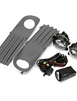 cheap -Car Front Fog Lights Grille Kit Set with Wiring Headlight Switch For VW T5 Transporter 2003-2010