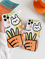 cheap -Case For Apple iPhone 11 / iPhone 11 Pro / iPhone 11 Pro Max Shockproof / Dustproof / IMD Back Cover Animal / Cartoon / 3D Cartoon TPU
