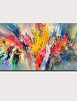 Недорогие -ручная роспись маслом - абстрактный пейзаж современный современный натянутый холст