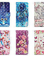 cheap -Case For Apple iPhone 7/8/7P/8P/X/XS/XR/XS Max/11/11 Pro/11 Pro Max/SE 2020  Card Holder / Shockproof / Flip Back Cover Cartoon PU Leather