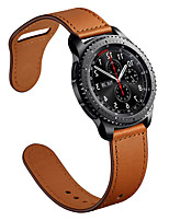 cheap -Genuine leather Watchbands 22mm Samsung galaxy watch 46mm R800 /gear S3/ Gear2 R380/ Gear2 Neo R381/ Live R382 Quick Release strapFor Watch accessorie