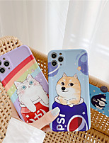 cheap -Cartoon Cute Cat Dog Soft Silicone Case For iPhone 7 8 Plus X XS XR XS Max se 2020 Phone Cover For iPhone 11 Pro Max