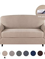 cheap -Sofa Cover Solid Colored Flocking Polyester / Cotton Slipcovers