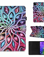 cheap -Case For Apple iPad Pro 11''(2020) / iPad 2019 10.2 / Ipad air3 10.5' 2019 Wallet / Card Holder / with Stand Full Body Cases Spread Flower PU Leather / TPU for iPad Air / iPad 4/3/2 / iPad (2018)