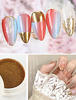 cheap -1 pcs Water Resistant / Multi Function / Creative Glitter Glitter Powder For Finger Nail Creative nail art Manicure Pedicure Party / Evening / Daily / Festival Trendy / Fashion
