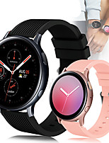 cheap -Sport Silicone Wrist Strap Watch Band for Samsung Galaxy Watch 42mm / Galaxy Watch Active 2 / Active R500 / Gear S2 Classic / Gear Sport Replaceable Bracelet Wristband
