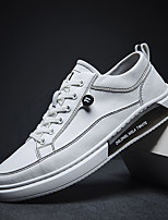 cheap -Men's Summer / Fall Sporty / Classic / Casual Daily Outdoor Sneakers Walking Shoes PU Breathable Almond / White / Black