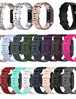 cheap -Smartwatch Band for Fitbit Charge 4/ Fitbit charge3 / Fitbit Charge3 SE Fitbit Sport Band Fashion Soft Silicone Wrist Strap