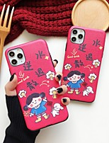 cheap -Case For Apple Shockproof / Pattern Full Body Cases Cartoon TPU