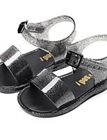cheap -Girls' Comfort PVC Sandals Little Kids(4-7ys) Black / Pink / Gold Summer