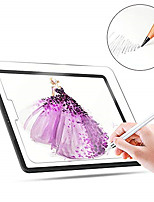 cheap -1pc Paperlike Screen Protector for iPad Pro Screen Protector for Apple iPad Air Drawing High Touch Sensitivity Anti Glare Film Compatible with Apple Pencil & Face ID