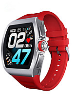 cheap -M1 Men's Smartwatch Android iOS Bluetooth Touch Screen Heart Rate Monitor Blood Pressure Measurement Long Standby Distance Tracking ECG+PPG Pedometer Call Reminder Sleep Tracker Sedentary Reminder