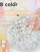 cheap -1 pcs High Transparency / Creative / Wearproof Pearl Pearls For Finger Nail Creative nail art Manicure Pedicure Party / Evening / Daily / Festival Aristocrat Lolita / Romantic