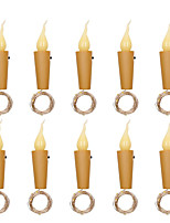 cheap -10pcs 6pcs 20 leds Candle Wine Bottle Lights With Cork 2M LED String Lights Batteries Powered Garland String Fairy Night Lamp Wedding Decoration