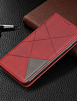 cheap -Case For Nokia 4.2 Nokia 3.2 Card Holder with Stand Flip Full Body Cases Geometric Pattern PU Leather for Nokia 1 Plus Nokia7.2