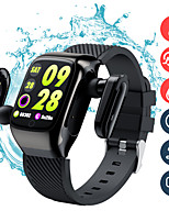 cheap -696 S300 Unisex Smartwatch Smart Wristbands Android iOS Bluetooth Heart Rate Monitor Blood Pressure Measurement Sports Hands-Free Calls Information Stopwatch Pedometer Call Reminder Activity Tracker
