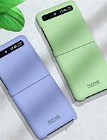 cheap -For Samsung Galaxy Z Flip Case Slim Hard PC 360 Full Protection Phone Case For Samsung Galaxy Z Flip Cover Shcokproof