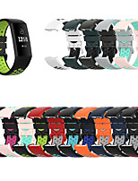 cheap -Compatible with Fitbit Charge4 Bands Breathable Silicone Replacement Sport Wristbands Compatible with Fitbit Charge 3 with Secure Watch Clasp Men Women Large Small