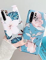 cheap -Retro Flower Leaf Phone Case For Huawei P40 P20 P30 Pro Lite Mate 20 30 Pro Lite IMD Soft Full Protection Cover For Huawei P40