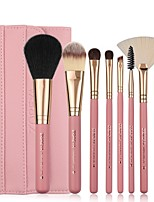 cheap -Professional Makeup Brushes 8pcs Soft Artificial Fibre Brush Wooden / Bamboo for Foundation Brush Eyeshadow Brush Makeup Brush Set