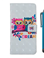 cheap -Case For Samsung Galaxy S20 S20 Plus S20 Ultra Wallet Card Holder with Stand Full Body Cases Couple Owl PU Leather TPU for Galaxy A51 A71 A01 A50(2019) A30S(2019) A70(2019) A20(2019)